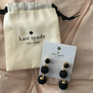 Kate Spade earrings. ♠️